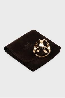 Кольцо для платка Hermes
