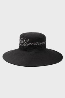 Панама Blumarine с лого из страз