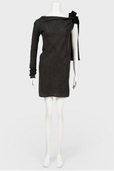 Платье серое Dolce & Gabbana