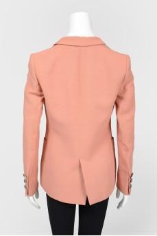 Пиджак с накладными карманми