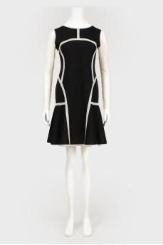 Двустороннее платье А-силуэта