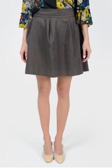 Пышная мини юбка