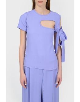Асимметричная топ-блуза с биркой