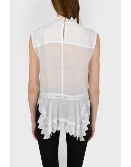 Блуза без рукавов с биркой