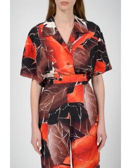 Рубашка с коротким рукавом с биркой