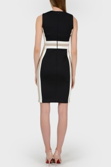 Платье-футляр колорблок с биркой