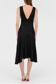 Платье с асимметричным подолом с биркой