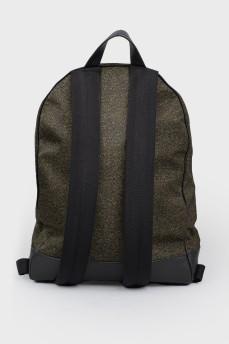 Рюкзак с накладным карманом впереди