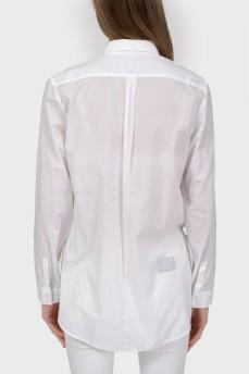 Рубашка-блуза с застежкой-пуговицами