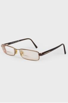 Очки для зрения с прямоугольными линзами