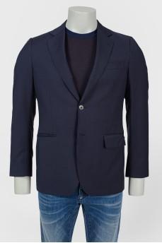 Пиджак мужской с тремя накладными карманами