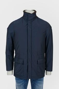 Куртка с отстегным воротником и подкладкой