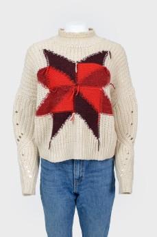 Свитер Hanoi patchwork jumper
