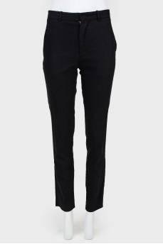 Классические брюки прямого кроя
