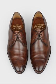 Классические туфли мужские кожаные
