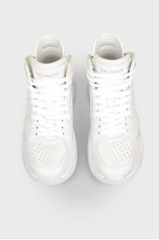 Высокие кроссовки детские белые с биркой