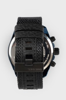 Мужские часы с циферблатом графитово-синем