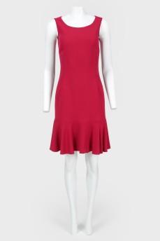 Платье без рукавов приталенное с биркой