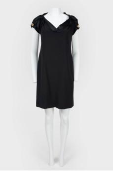 Винтажное платье с коротким рукавом с биркой