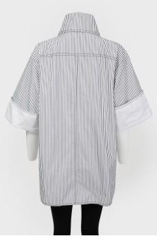 Ветровка в рубашечном стиле на пуговицах