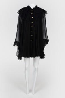 Многослойное мини-платье