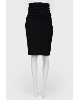 Винтажная юбка с широким корсетом