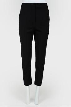 Укороченные брюки на скрытой молнии