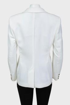 Пиджак на кнопке с биркой