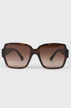Солнцезащитные очки teashades коричневые с градиентом