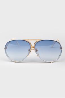 Солнцезащитные очки-авиаторы с подвижной переносицей