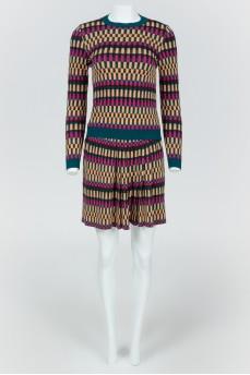 Комплект юбка + кофта разноцветный