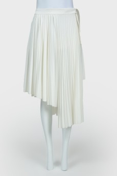 Плиссированная юбка с биркой