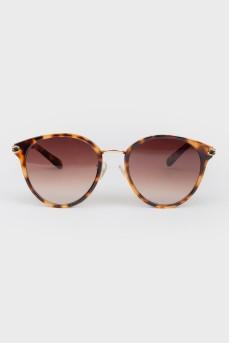 Солнцезащитные очки типа гранд коричневые